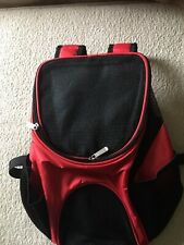 New listing Breathable Pet Dog Carrier Double Shoulder Bag Puppy Cat Travel Outdoor Backpack