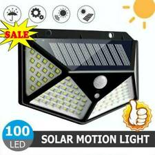 100 LED Solar Power PIR Motion Sensor Wall Light Outdoor-Garden Lamp Waterproof