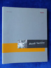 AUDI TechDay Antriebe - A4 A6 Q7 TDI - Media-Info Hardcover-press-kit 08.2007