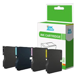 4 Ink Cartridge For Ricoh SG3110SFNW SG3120B SG3120SFN SG3120SFNW SG7100DN
