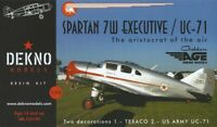 Spartan 7W Executive / UC-71 - DEKNO models - 1/72 - resin kit