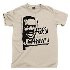 Stanley Kubrick T Shirt The Shining Redrum Horror Heres Johnny Carson Tee Poster
