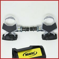 NOS MAVIC RACE SL TITANIUM CARBON PEDALS CLIPLESS VINTAGE ROAD RACING BIKE CLIP