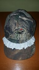 Bass Pro Shops RedHead Infant Toddler Girl's Camo Baseball Cap with Lace Trim
