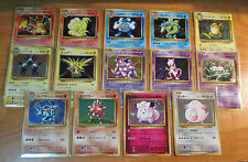 NM 1st ed Japanese COMPLETE Pokemon HOLO 20th ANNIVERSARY CP6 Card Set Charizard