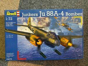 Revell 04672 Junkers JU 88A-4 Bomber 1/72