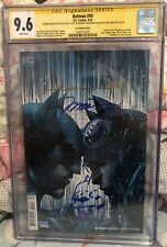 Batman #50 CGC SS Signed By Scott Williams Alex Sinclair w/ Jim Lee Sketch 9.6