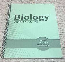 ABeka (10th grade) BIOLOGY God's Living Creation 10: Video Manual/ Lesson Plans