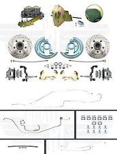 1964-1967 Chevelle Hardtop High Performance D/S Disc Brake Conversion & Line Kit