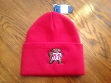 Top of the World Maryland Terrapins Red Knit Cuffed Beanie - NCAA