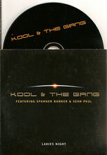 KOOL & THE GANG ft SPANNER BANNER & SEAN PAUL - ladies night CD SINGLE 2004