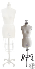 Miniature Half Scale Ladies Dress Form Available size 0 / 2 / 4 / 6  /8 or 10