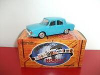 RENAULT 10 R10 bleu 1966 norev presse 1/43