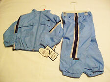 Athletic Works Baby Toddler 2 Piece Light Blue Boys Wind Suit, Size 2T (NWT)