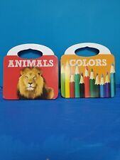 """Bendon """"Colors"""" and """"Animals"""" Board Books ( 1 OF EACH)  * FREE SHIPPING*"""