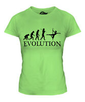 POLE DANCER EVOLUTION LADIES T-SHIRT TEE TOP GIFT DANCING CLOTHING