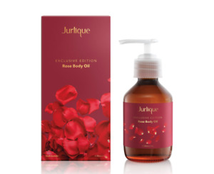 NEW Jurlique Exclusive Edition Rose Body Oil 200ml Deeply Hydrate Balance Skin