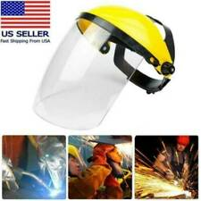 Clear Head mounted Protective Safe Full Face Eye Shield Screen Grinding Cover
