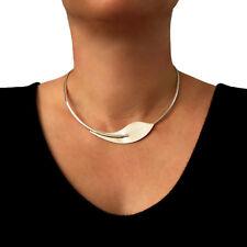 Gargantilla plata esterlina 925 Collar De Flor Calla Lily