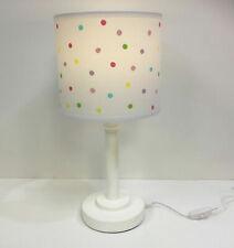 Children's Nursery Bedside Table Lamp Light Built in LED 12 volt