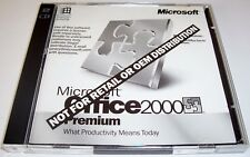MICROSOFT OFFICE 2000 PREMIUM - DISCS 3 AND 4 ONLY -ie MICROSOFT PHOTODRAW + KEY
