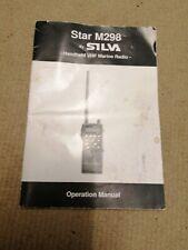SILVA Star M298 Original Manual Operation Manual Star by SILVA