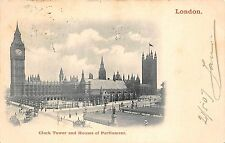 B85254 clock tower and houses of parliament   london uk