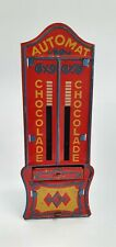 New ListingEarly German Automat Tin Mechanical Vending Bank Chocolade