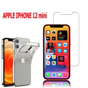 """Verre de Protection Et Mobile Housse Silicone Pour Apple IPHONE 12 Mini 5.4 """""""