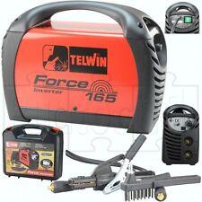 Saldatrice inverter Telwin Force 165 peso ridotto elevata stabilità