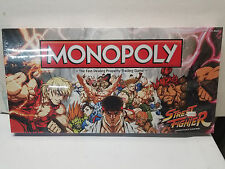 Street Fighter Collector's Edition Monopoly NEW SEALED