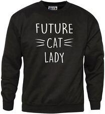 Future Cat Lady Funny Cat Jumper - Men's + Women's Sweatshirt
