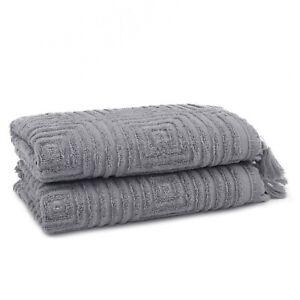 Troya 2 Pieces Bamboo Hand Towel Set