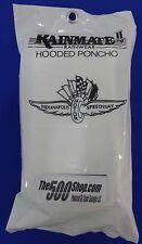 Indianapolis Motor Speedway IMS Hooded Poncho Indy 500 Brickyard 400 MOTO GP