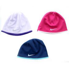 Nike Winter Hat Youth Girls Reversible Beanie Warm Soft Fleece Hat, 577041