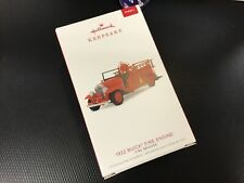 2018 Buick 1932 Fire Truck Hallmark Retired Keepsake Ornament
