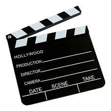 Regieklappe Regie Klappe Filmklappe Hollywood Clapperboard 20x18 Cm