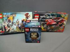 Lego Lot Of 3 41599 Wonder Woman 8136 Racers Fire Crusher 7091 Castle Catapult