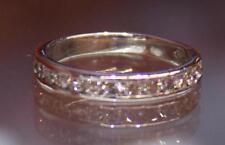 Womens Size 5.25 .46ctw Si1-2/I Platinum Diamond Ring Band Wedding