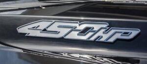 Pair (2) 450 Horsepower Emblems For 2017-18 Ford F150 Raptor (Stainless Steel)