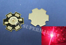 50pcs Red 3W 640nm High Power LED on star PCB for Plant Growing