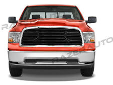 09-12 Dodge RAM 1500 Big Horn Black Packaged Grille+Chrome Shell Replacement NEW