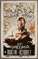 THURSTON MOORE 2014 Gig POSTER Sonic Youth Portland Oregon Concert