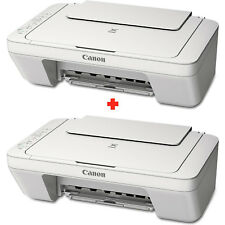 2X Canon MG2522 Compact All-In-One Printer Copier Scanner (Includes Ink)
