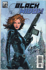Black Widow #1 Signed Greg Land Cover 2004