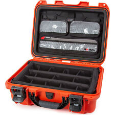 Nanuk 920 Waterproof Mobile Camera Case w/Lid Organizer & Padded Divider, Orange