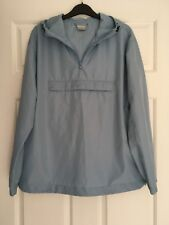WOMENS, NIKE HOODED FOLD AWAY JACKET/TOP, BLUE, SIZE M, POLY LIGHTWEIGHT #1328