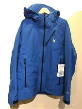Spyder GORE-TEX PRO Ski Snow Jacket Shell Eiger L 52 Large Blue Men $600