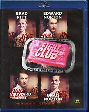 Fight club BLU-RAY con brad Pitt Edward Norton