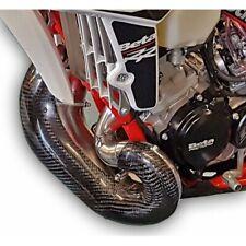 PRO CARBON Fibre NEW! XL Exhaust Guard fits STD OEM PIPE BETA RR200 RR 200 2019